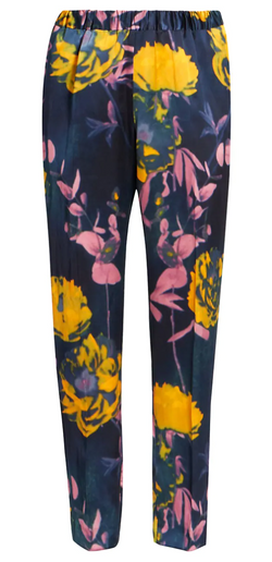 Dries Van Noten Palmira Silk Satin Pant @ Hero Shop