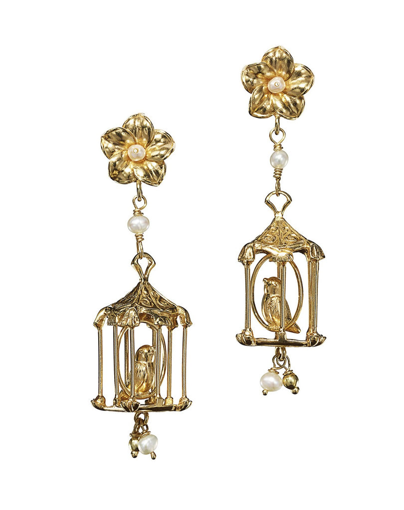 Of Rare Origin Pagoda Earrings
