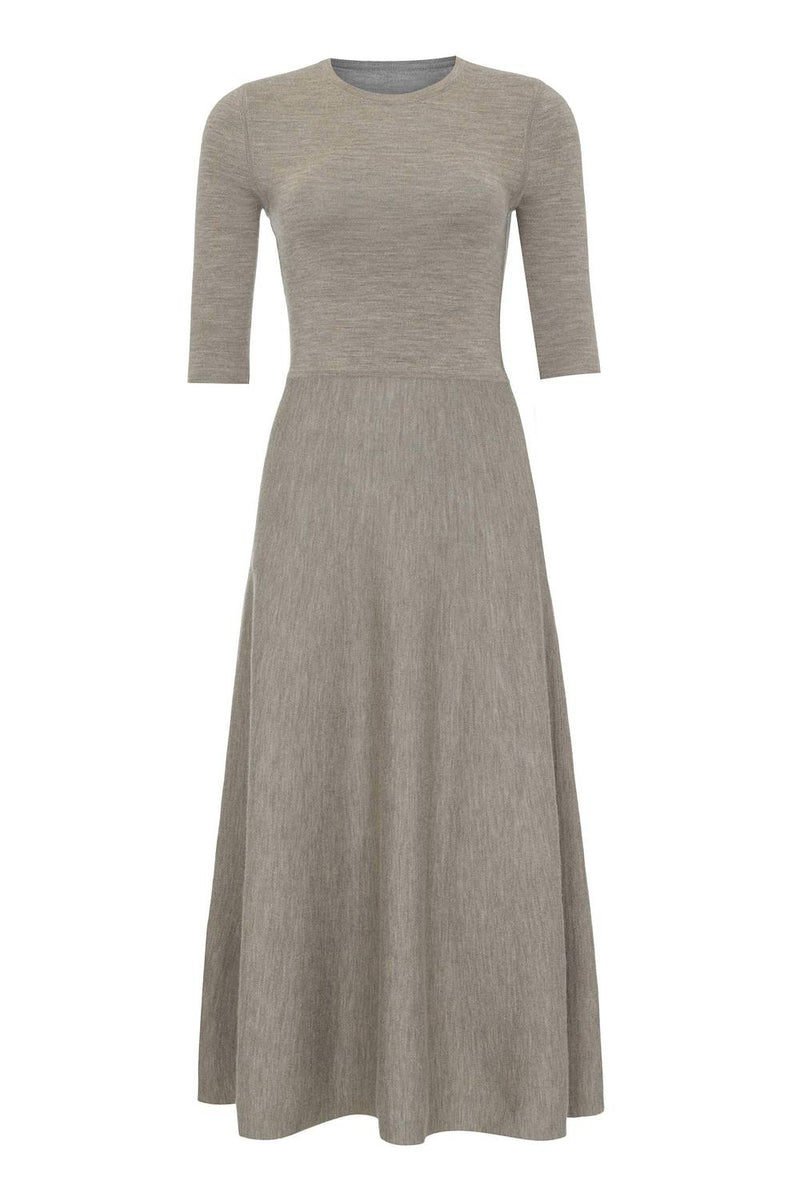 Gabriela Hearst Seymore Dress - Oatmeal @ Hero Shop