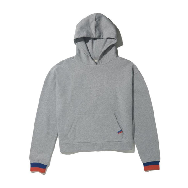 Kule The Crosby Hoodie - Heather Grey @ Hero Shop