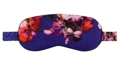 Eye Mask - Blue Ranunculus