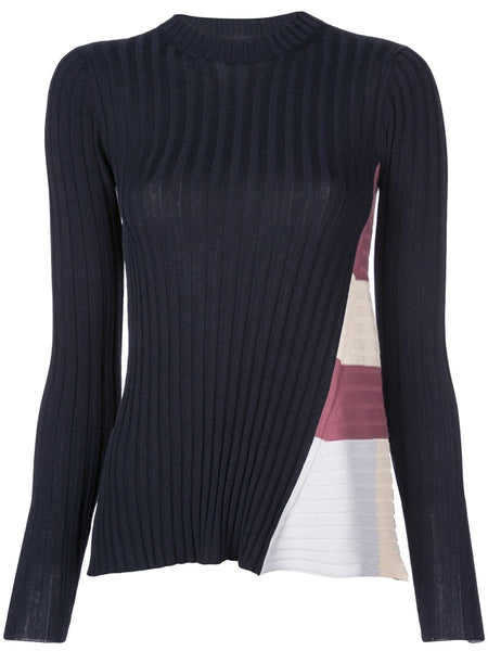 Rosetta Getty Ribbed Godet Top