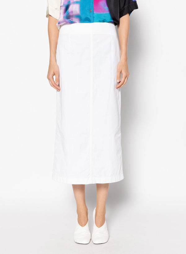 Sheelam Cotton Midi Skirt