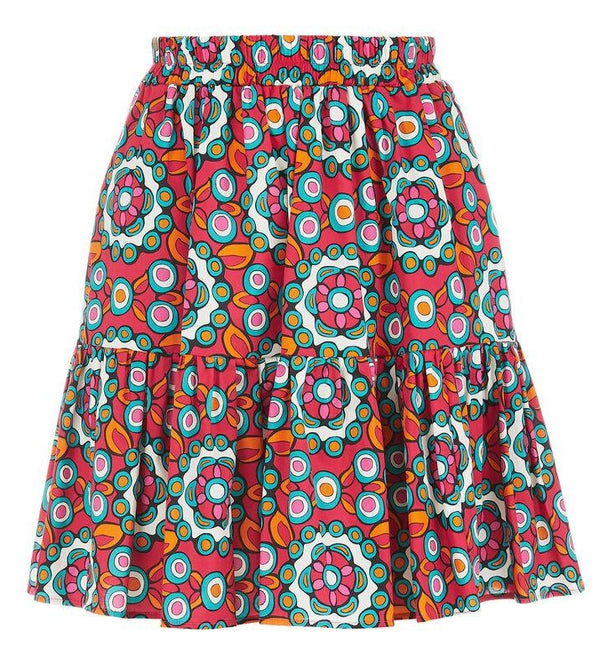 La DoubleJ - Mini Big Skirt - Fuxia Kaleidoscope @ Hero Shop