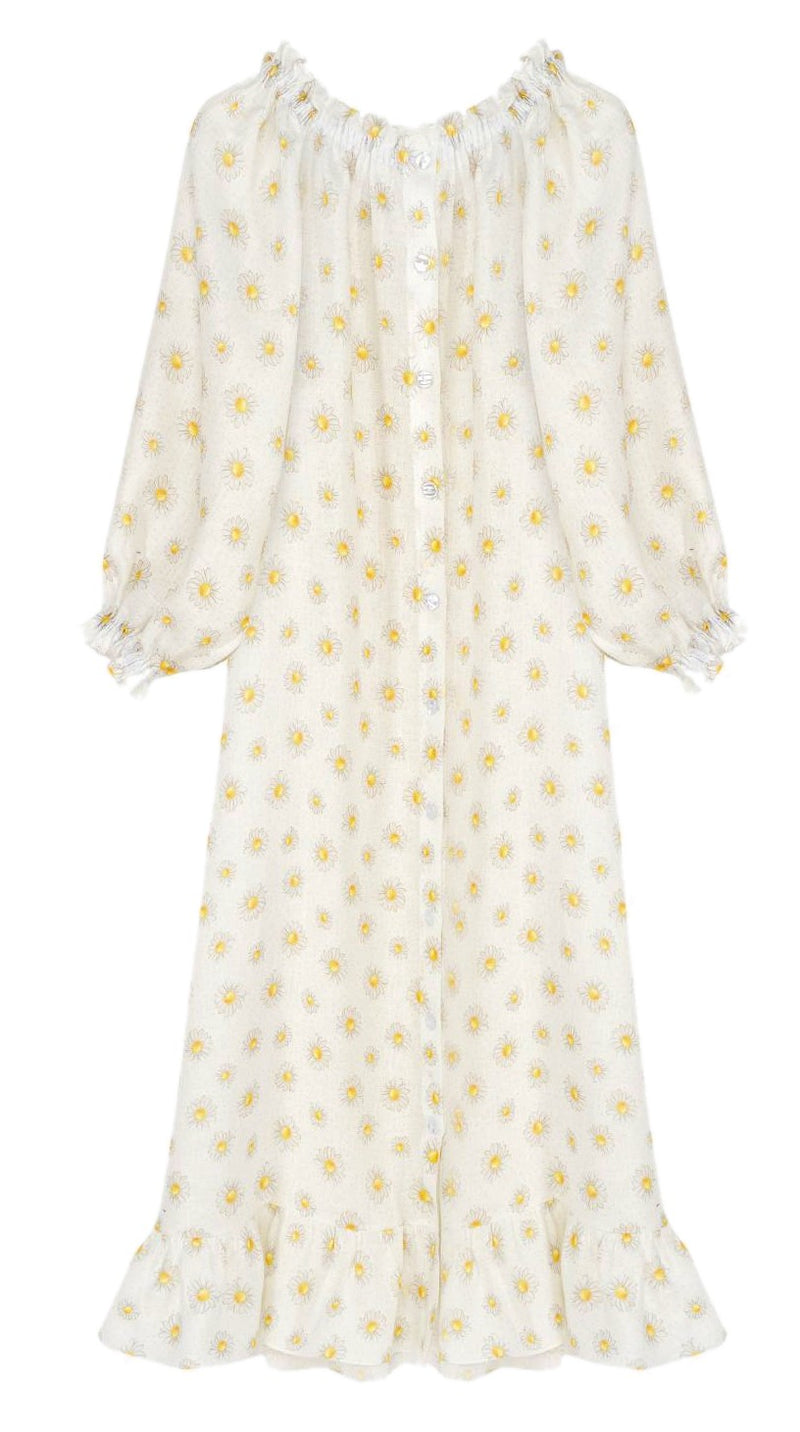 Sleeper Loungewear Dress - Daisies @ Hero Shop