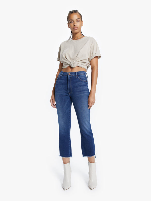 Mother Denim Insider Crop Step Fray - Sweet and Sassy