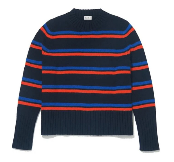 Kule The Madison Sweater - Navy @ Hero Shop SF
