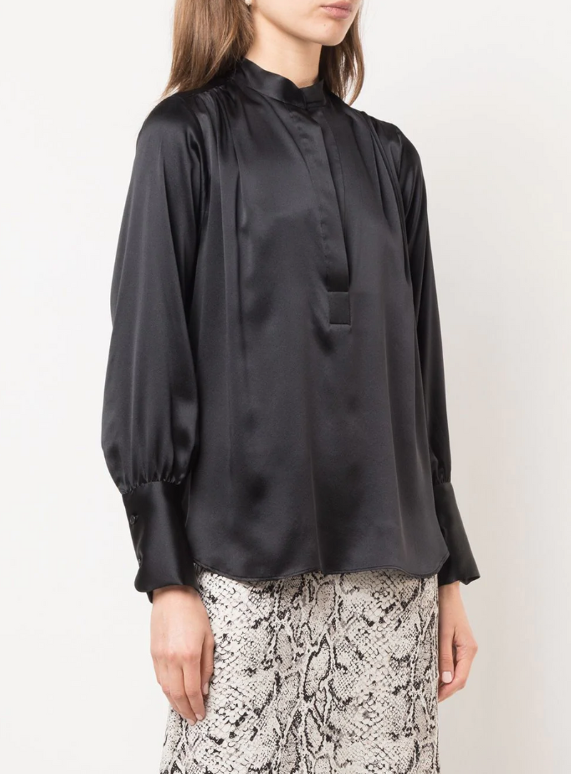 Nili Lotan Colette Top - Black @ Hero Shop SF