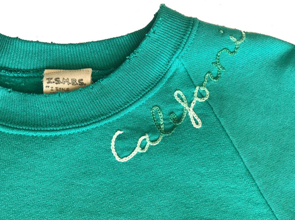 California Sweatshirt - Teal