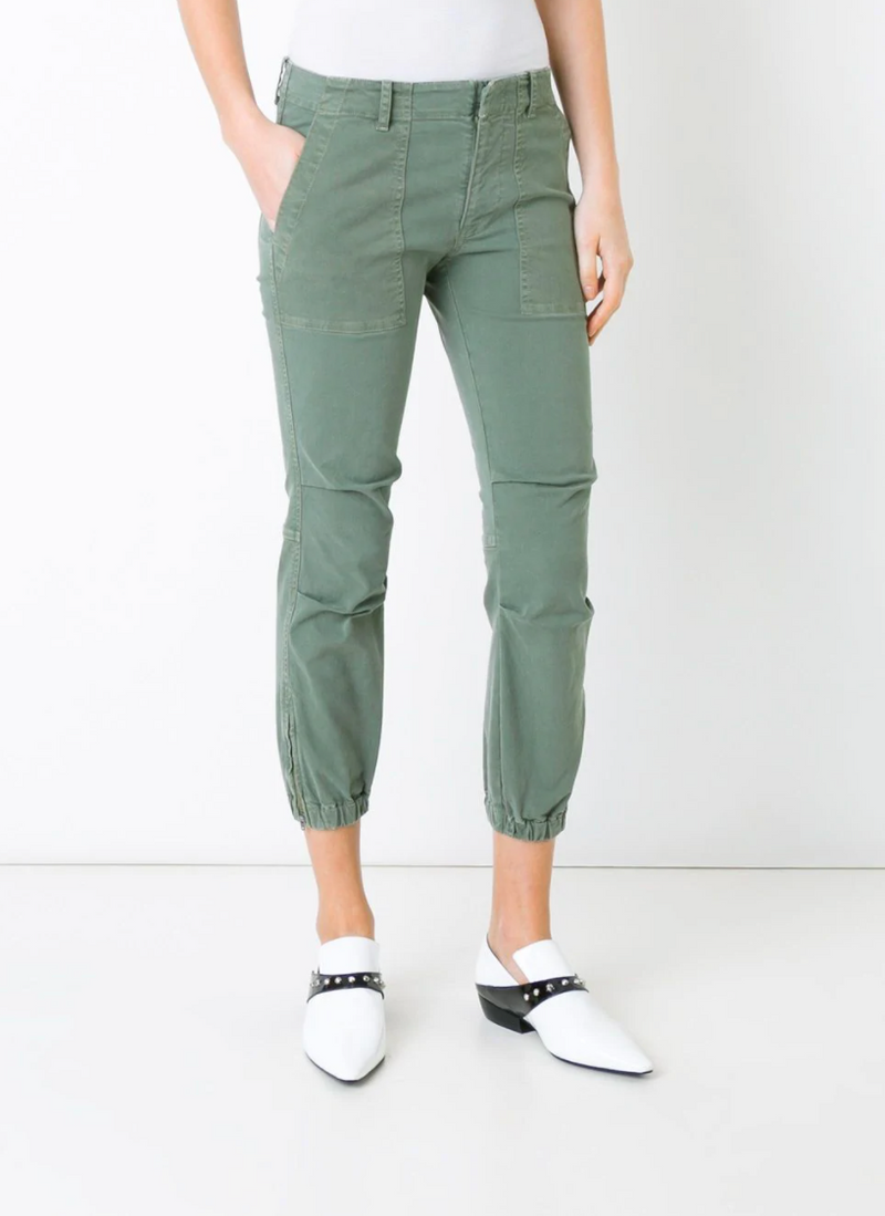 Nili Lotan Cropped Military Pant - Camo @ Hero Shop SF
