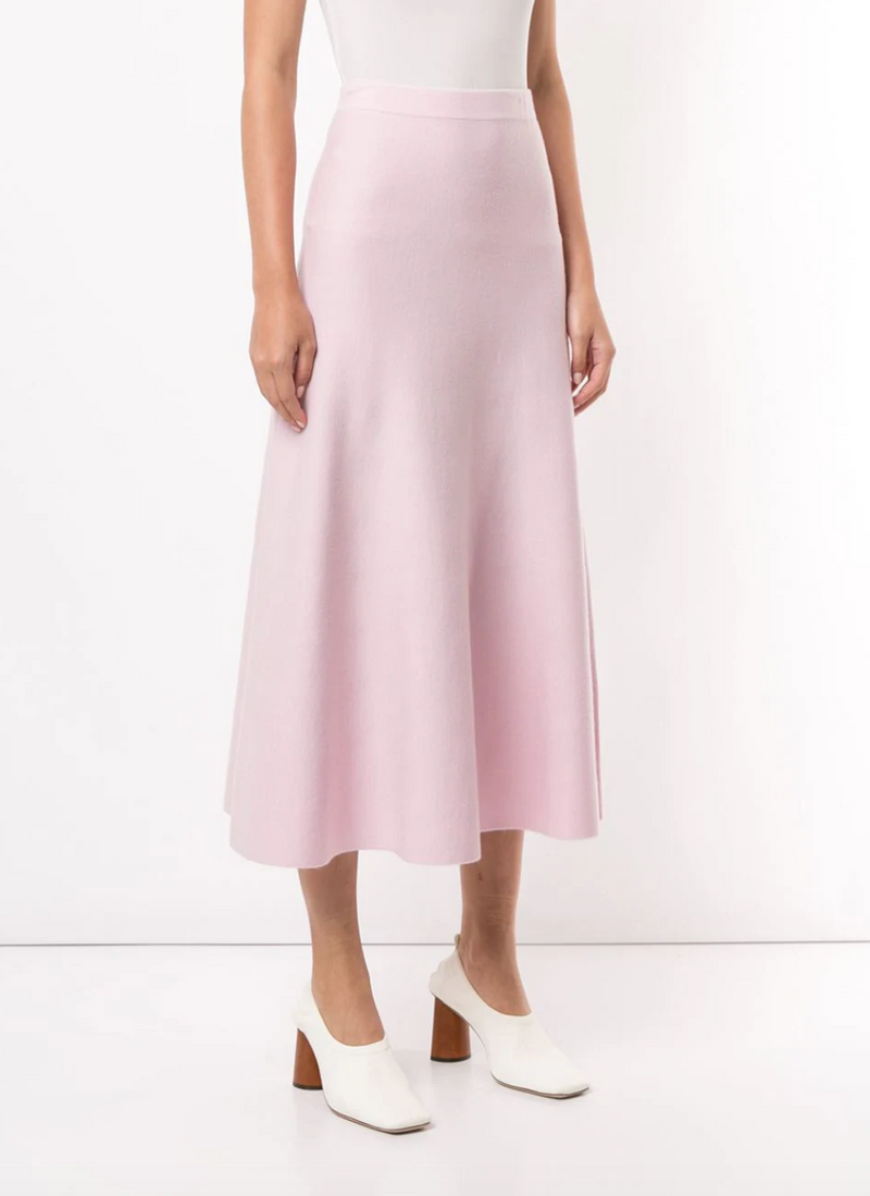 Gabriela Hearst Freddie Skirt - Blush @ Hero Shop SF