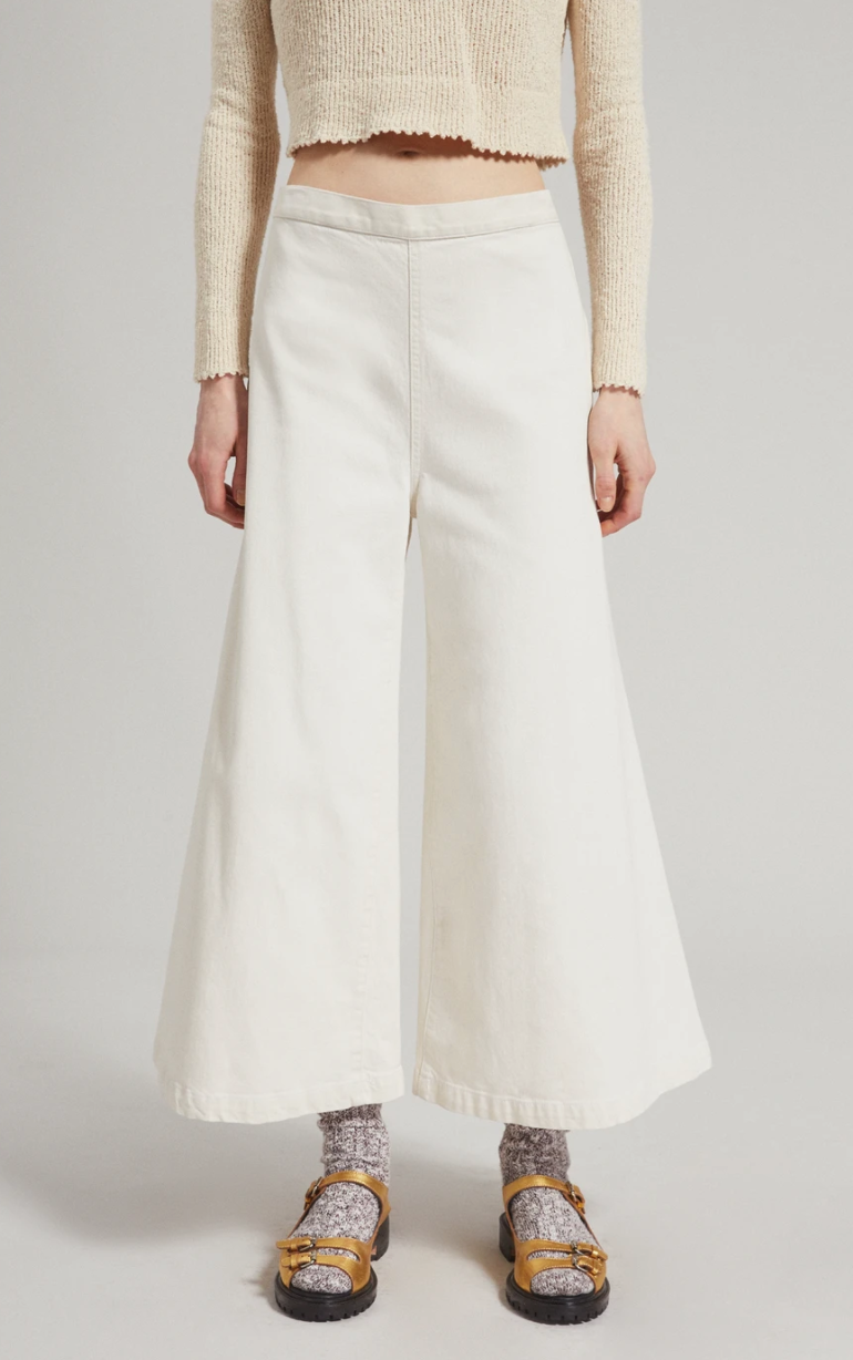 Rachel Comey Absolute Pant - Dirty White @ Hero Shop