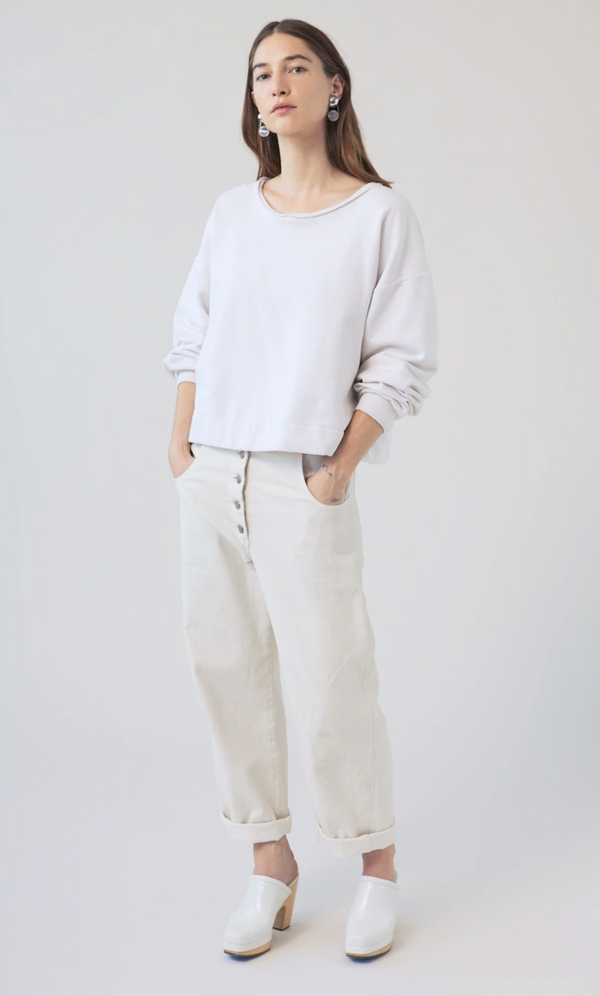 Rachel Comey Mingle Sweatshirt - Dirty White @ Hero Shop