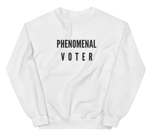 Phenomenal Voter Sweatshirt @ Hero Shop SF