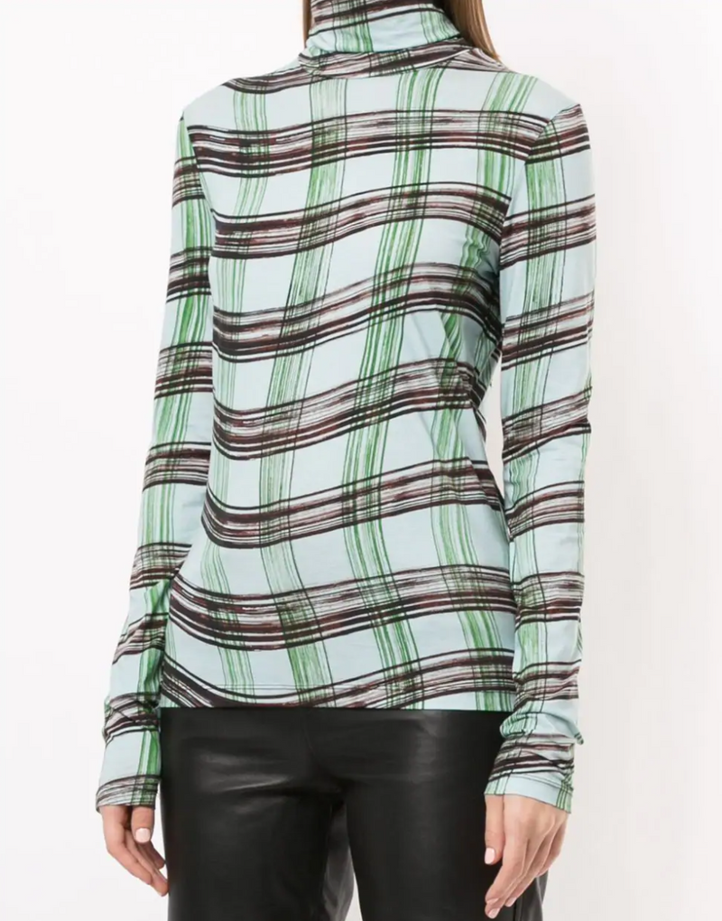 Proenza Schouler White Label Stretch Jersey Turtleneck Top @ Hero Shop