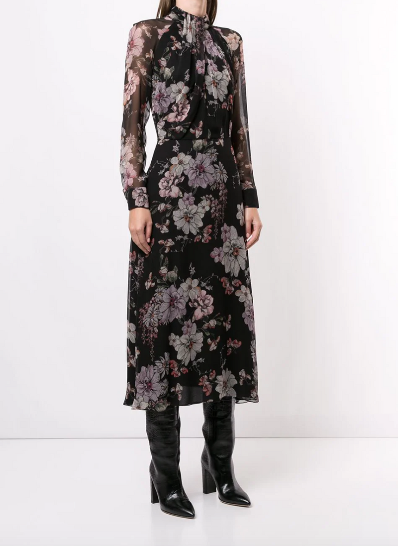 Adam Lippes Twist Drape Neck Dress @ Hero Shop