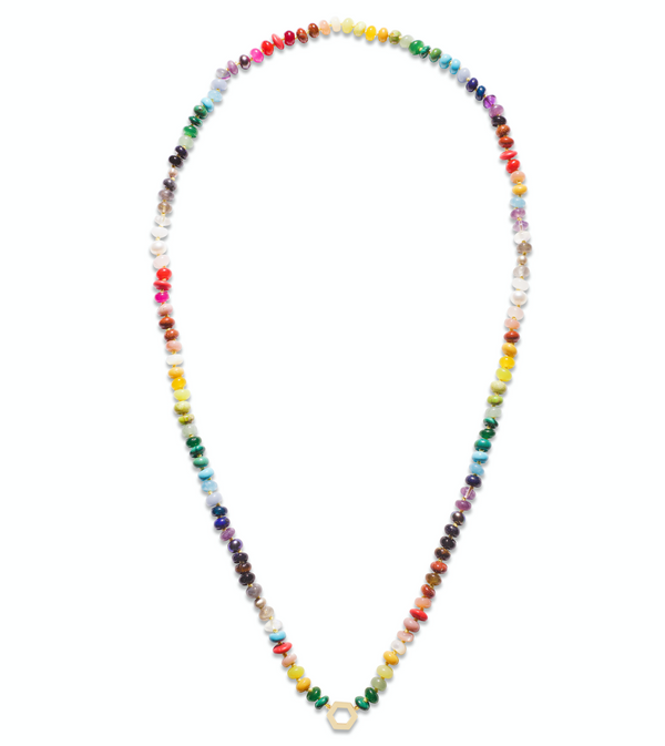 "Harwell Godfrey Rainbow Bead Foundation Necklace - 32"" @ Hero Shop"