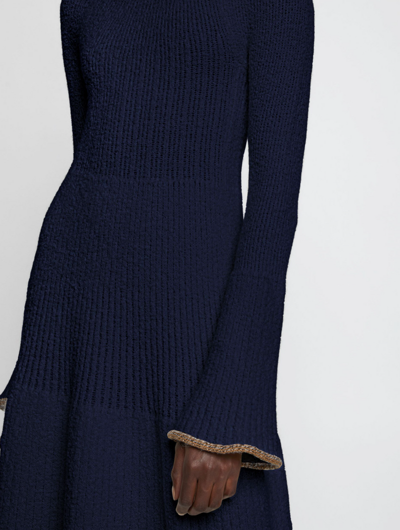 Proenza Schouler Long Sleeve Textured Knit Dress @ Hero Shop
