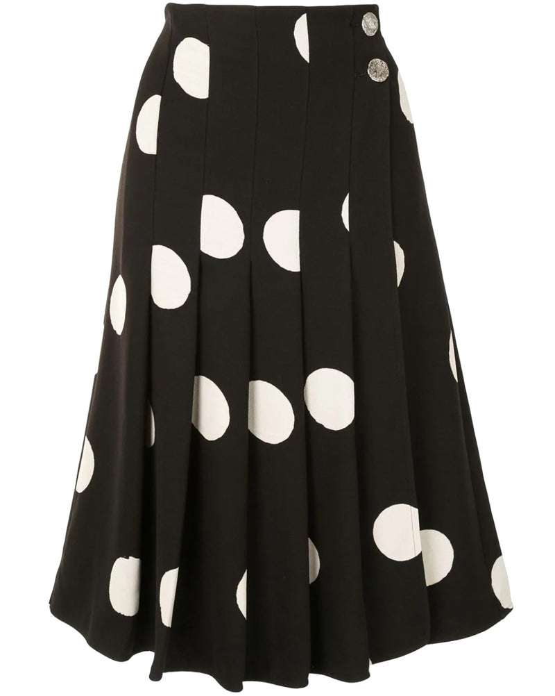Proenza Schouler Broken Dot Pleated Skirt @ Hero Shop