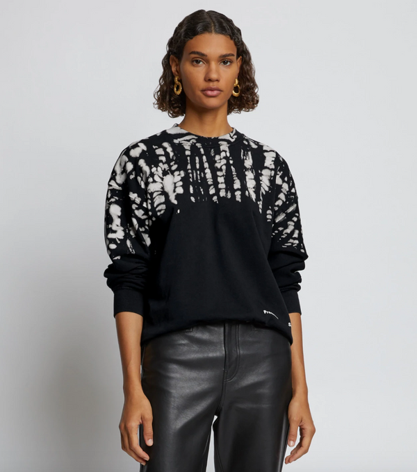 Proenza Schouler White Label Dotted Tie Dye Sweatshirt @ Hero Shop