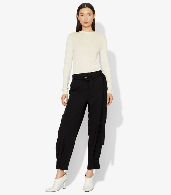 Proenza Schouler White Label Pants Belted Rumple Pique Pant @ Hero Sho…