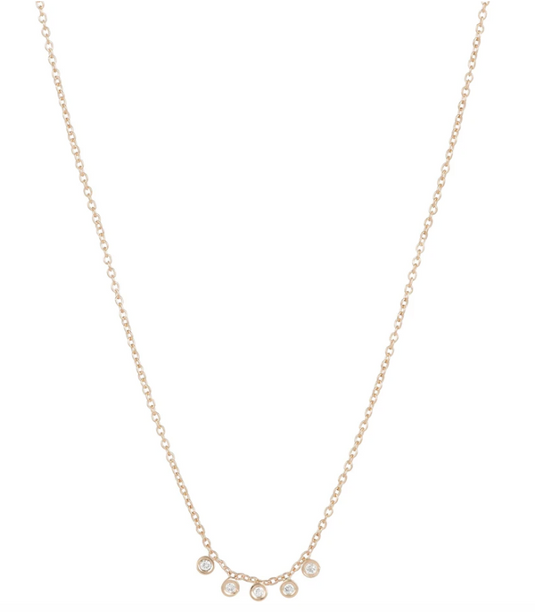 Ariel Gordon Mini Diamond Dash Necklace @ Hero Shop