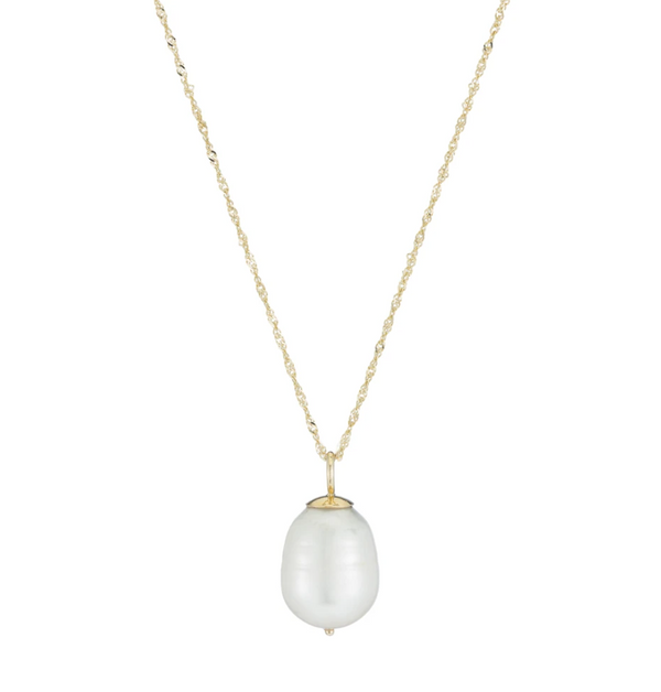 Ariel Gordon Baroque Pearl Necklace @ Hero Shop