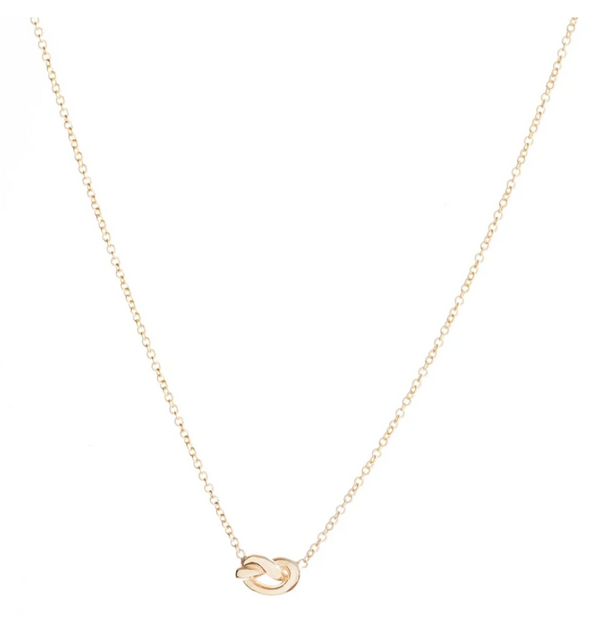 Ariel Gordon Love Knot Necklace