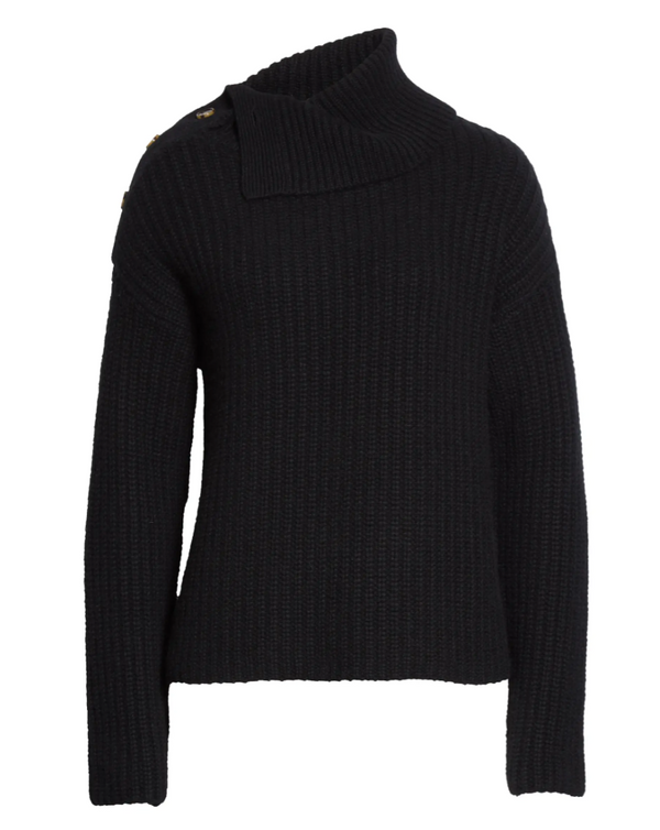 La Ligne Chalet Sweater - Black @ Hero Shop