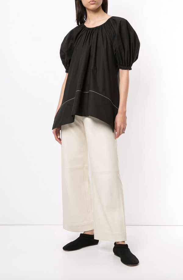 Proenza Schouler White Label Poplin Full Sleeve Blouse @ Hero Shop