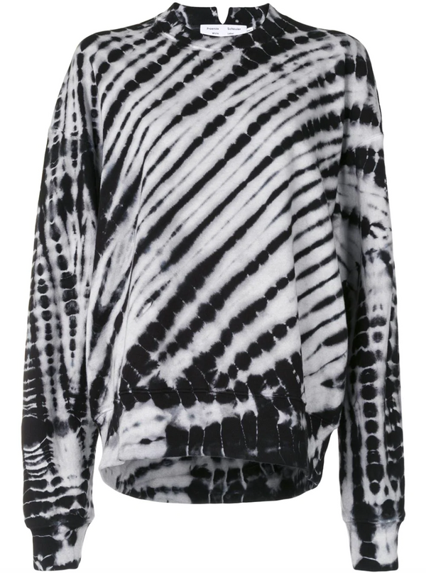 Proenza Schouler White Label Tie Dye Sweatshirt @ Hero Shop