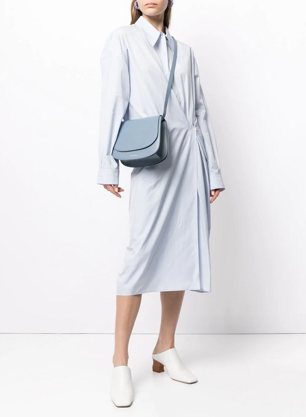 Mansur Gavriel Classic Shoulder Bag - Pioggia @ Hero Shop