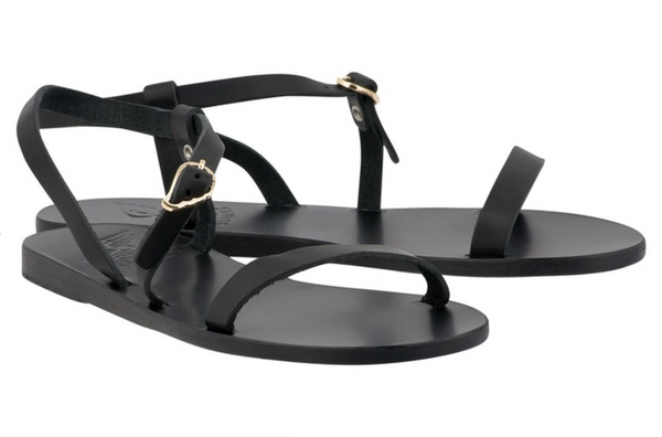 Ancient Greek Sandals Niove Sandal - Black @ Hero Shop