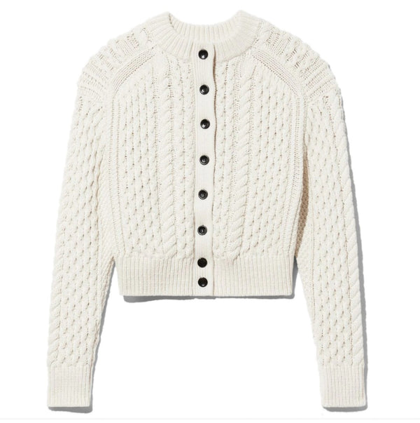 Proenza Schouler White Label Cableknit Reversible Sweater @ Hero Shop