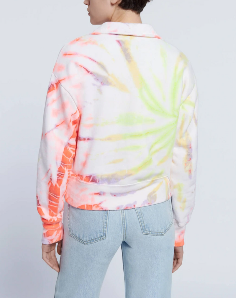 70s Half Zip Sweatshirt - Space Dye