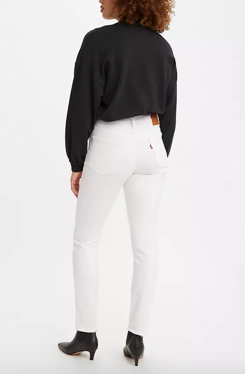 Levi's 501 Skinny - Cloud Over - White @ Hero Shop