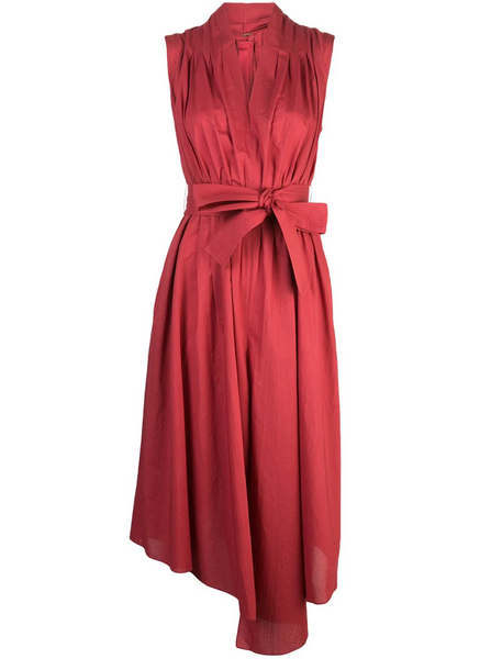 Adam Lippes Cotton Belted Dress