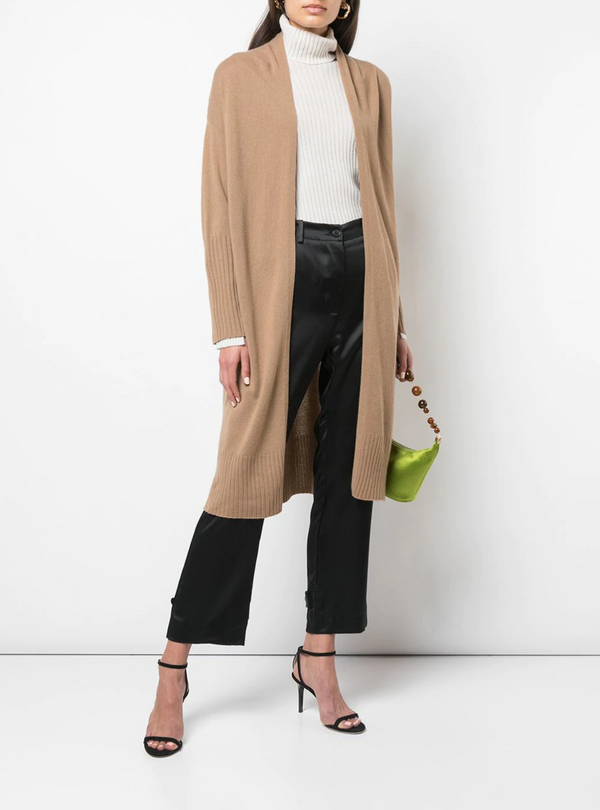 Nili Lotan Makenna Cardigan in Camel