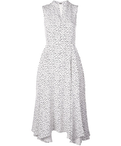 Adam Lippes Silk Crepe Sleeveless Dress