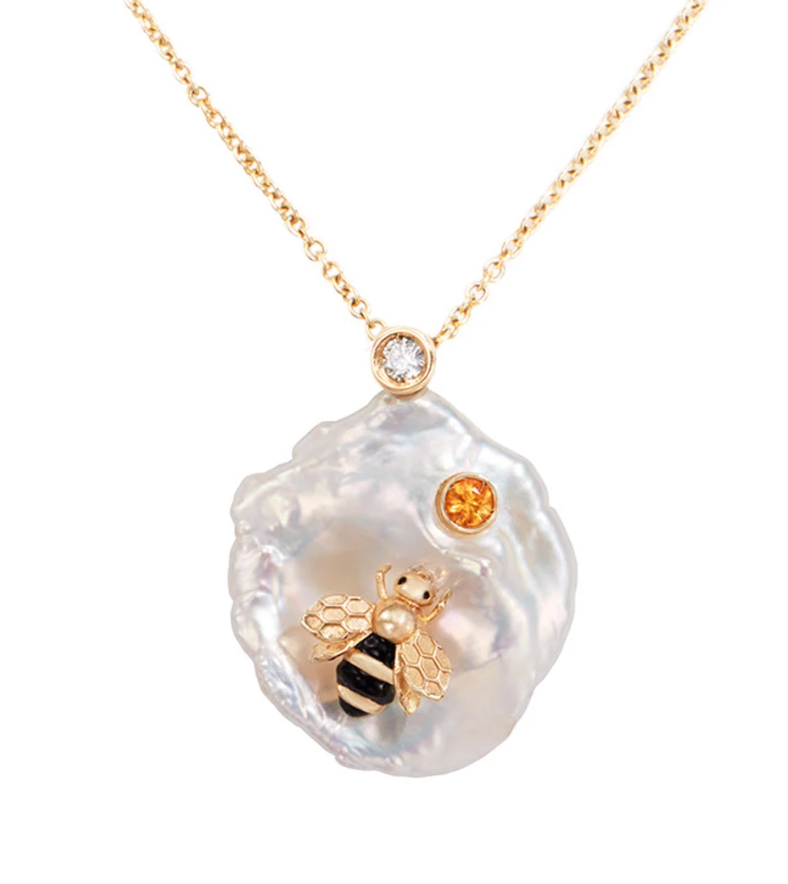 Of Rare Origin Bee My Honey Necklace