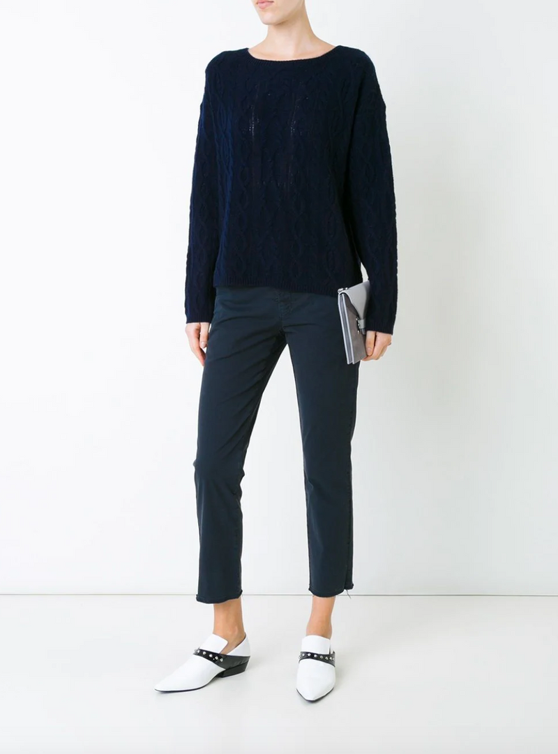 Nili Lotan East Hampton PantNili Lotan East Hampton Pant - Dark Navy @ Hero Shop SF