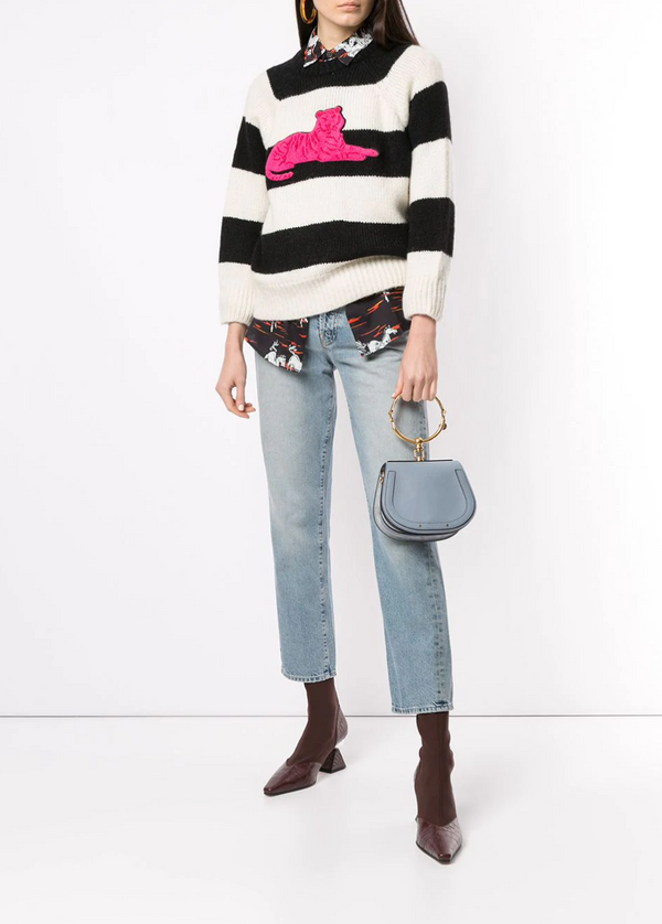 Mother Denim The Boat Square Jumper