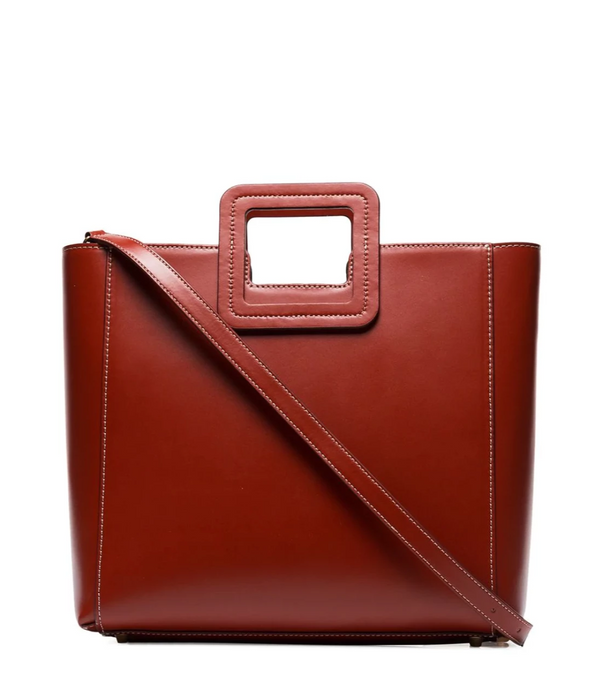 Staud Shirley Bag in Cognac