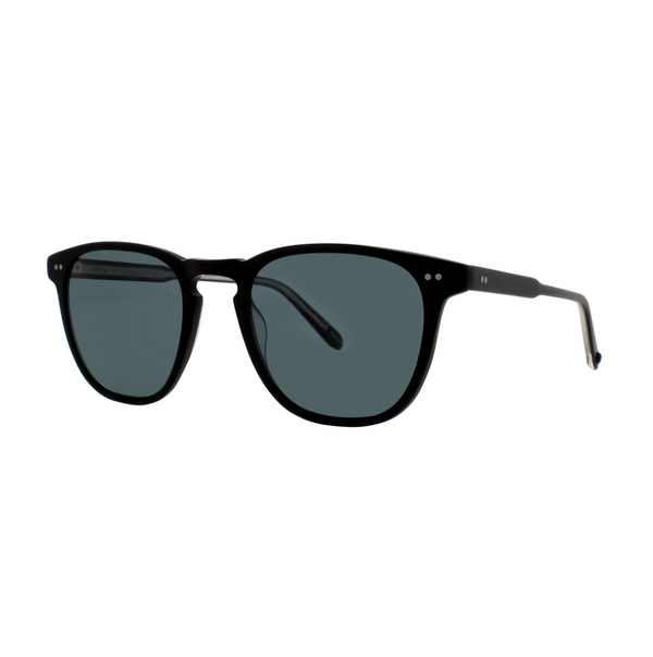 Garrett Leight Brooks 47 Polarized Matte Black / Blue Smoke @ Hero Shop SF