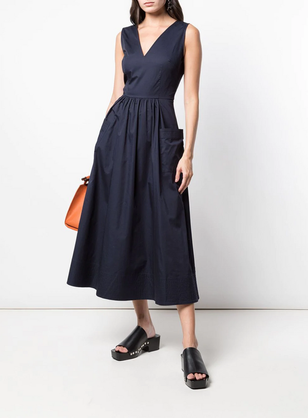 Co. Sleeveless Sateen Dress
