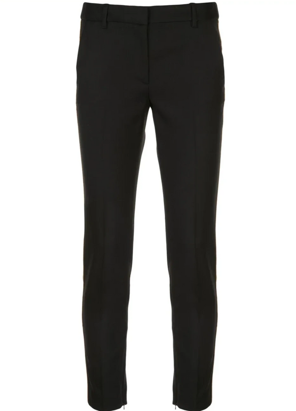 Nili Lotan Leo Pant w/ Piping - Black @ Hero Shop SF