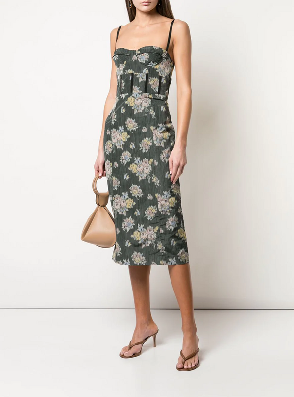 Brock Collection Silk Georgette Floral Dress @ Hero Shop SF