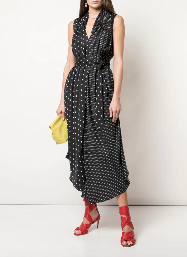 Adam Lippes Printed Twill Dress