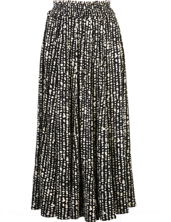 Proenza Schouler White Label Georgette Pleated Skirt - Inky @ Hero Shop SF