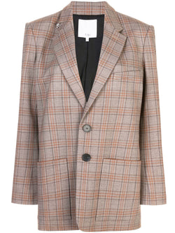 Tibi Menswear Long Blazer